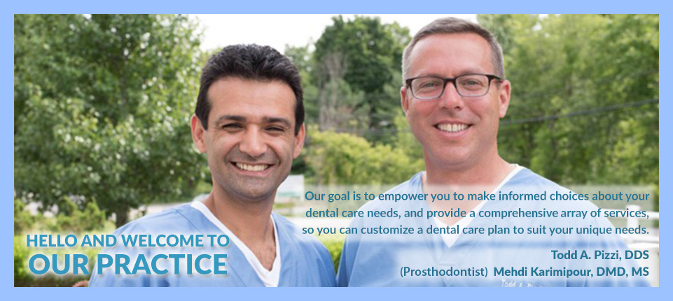 Photo of Doctors Medhi and Pizzi
