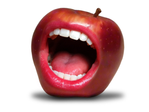 Healthy foods that stain teeth
