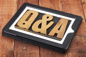 questions and answers plaque