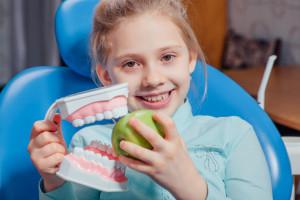 Pediatric Dentistry Smiling Girl